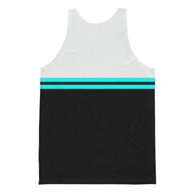 Men's Striped Jersey Tank Fall 2017