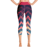 Women's Active Comfort Sport Olivia II Capri Leggings - Find Your Coast Supply Co.
