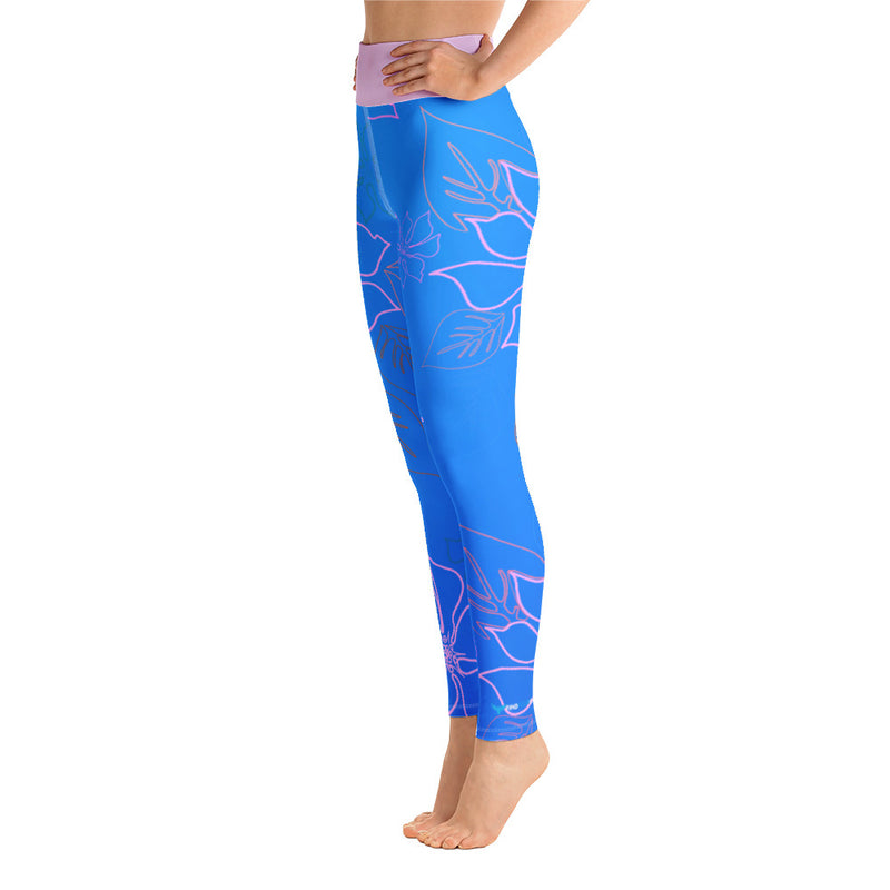 Women's Active Comfort Sport Aloha Full Length Leggings