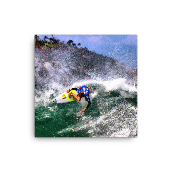Surfer Kai Otten on Canvas - Find Your Coast Brand