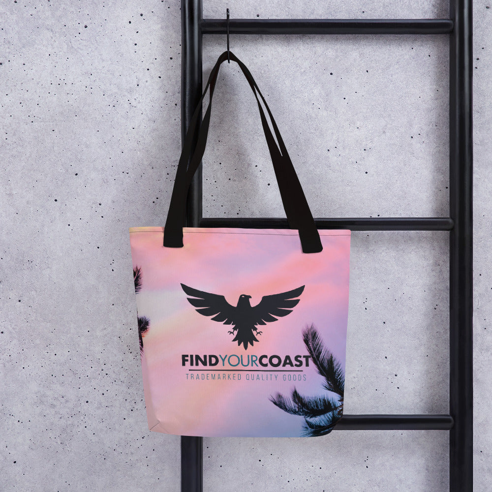 "FYC Daydreamer Durable 15"" x 15"" Tote Bag w/Bull Denim Handles - Find Your Coast Supply Co."