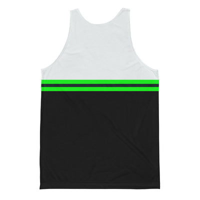 Men's Striped Jersey Tank Top - Find Your Coast Brand