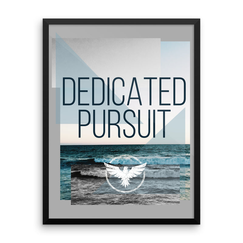 Sworn State Framed Art - Find Your Coast Brand