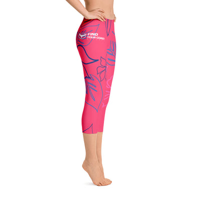 All Day Comfort Wild Life Capri Leggings - Find Your Coast Brand