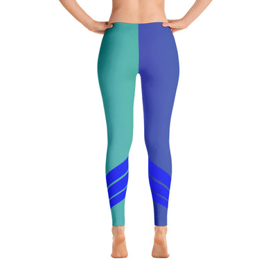 All Day Comfort Venture Pro Stripe Leggings - Find Your Coast Supply Co.