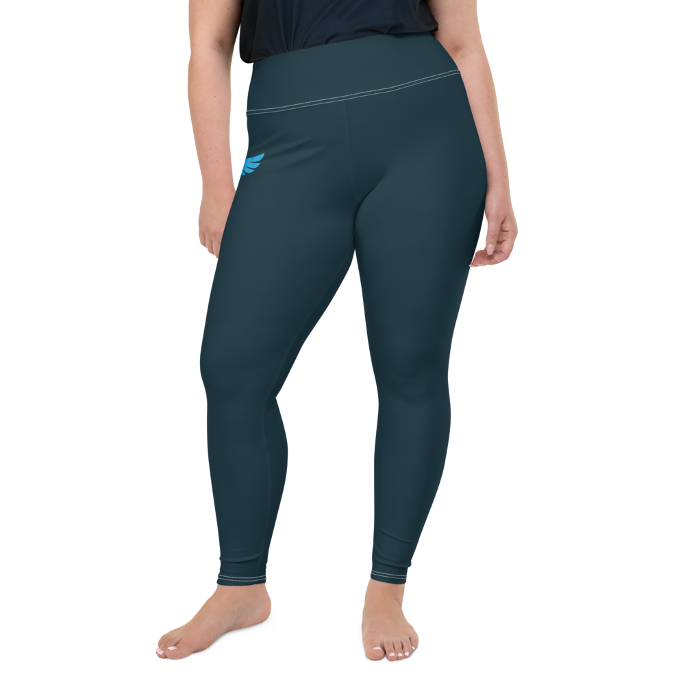 Women's All Day Comfort Pacific Supply Graphite Plus Size Leggings