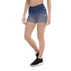 Women's All Day Comfort Faded Blue Spandex Shorts