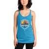 Women's Have Fun Out There Racerback Triblend Tank Top - Find Your Coast Supply Co.