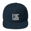 FYC Surf Premium Adjustable High Profile Snapback Hat - Find Your Coast Supply Co.