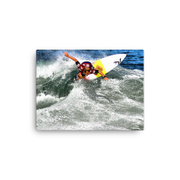 Surfer Josh Kerr on Canvas - Find Your Coast Supply Co.