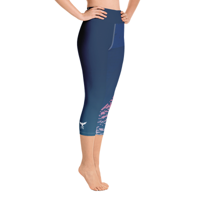 Women's Active Comfort Sport Madeleine Capri Leggings - Find Your Coast Supply Co.