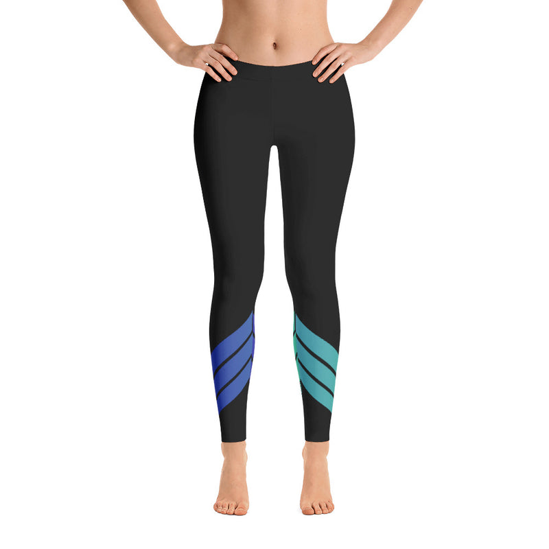All Day Comfort Venture Pro Stripe Leggings - Find Your Coast Brand