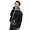 Men's Coast Camo Black Long Sleeve Hoodie w/Kangaroo Pocket - Find Your Coast Supply Co.