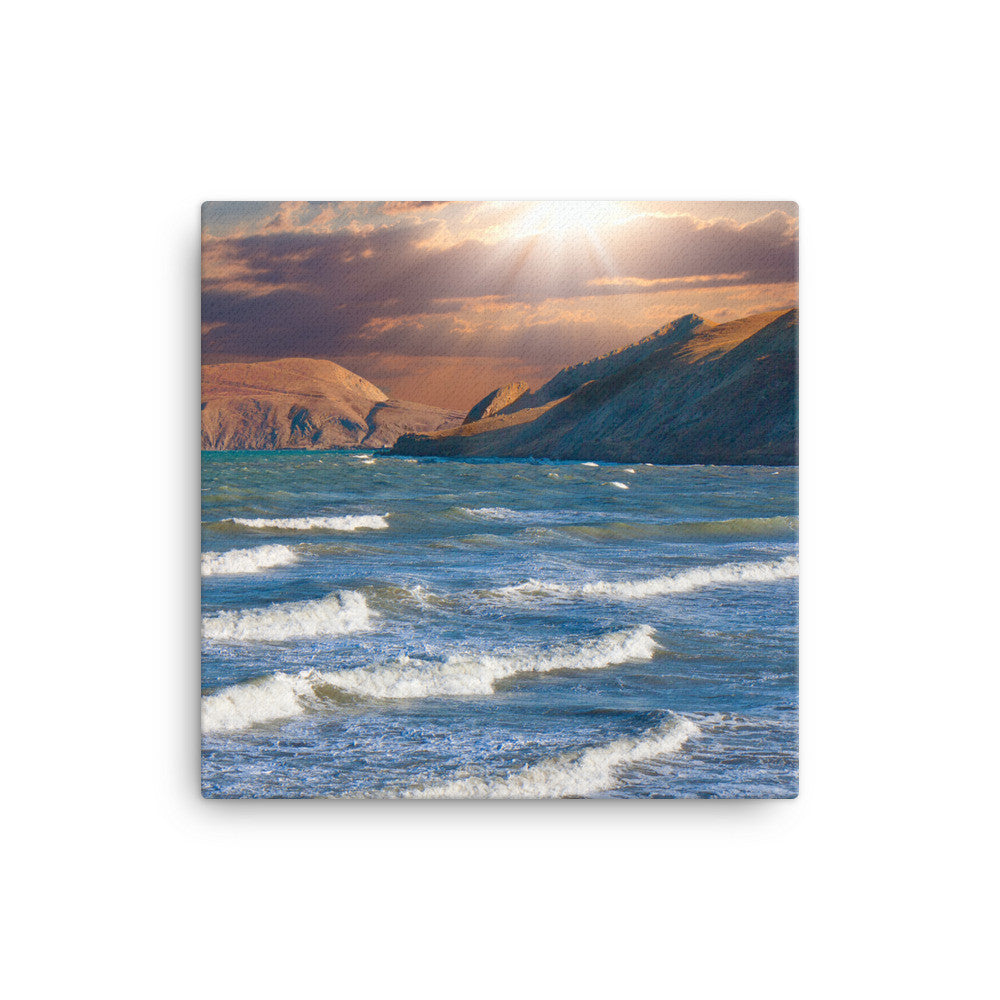 Lit Bay - Canvas - Find Your Coast Supply Co.