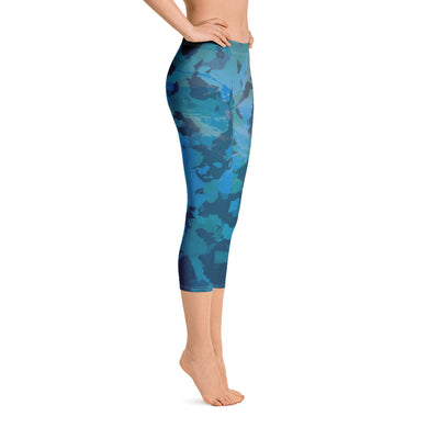 Women's Find Your Coast O.U.R. Outdoors Camo All Day Comfort Capri Leggings