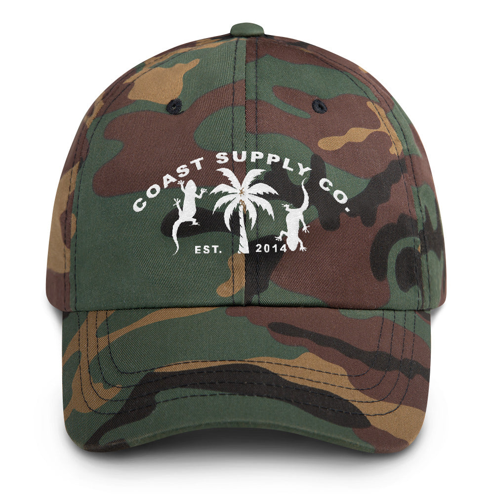 Find Your Coast Supply Co. Camo Chino Twill Dad Hat