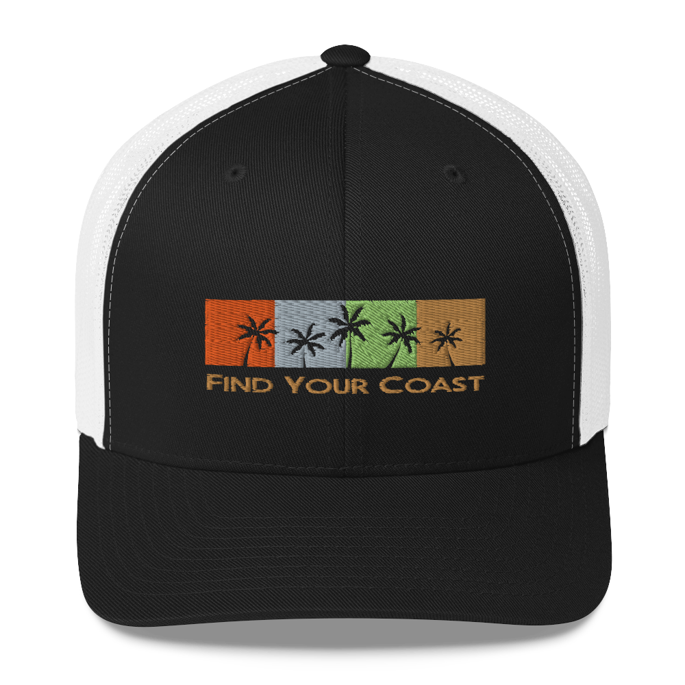 Find Your Coast Trucker Hat