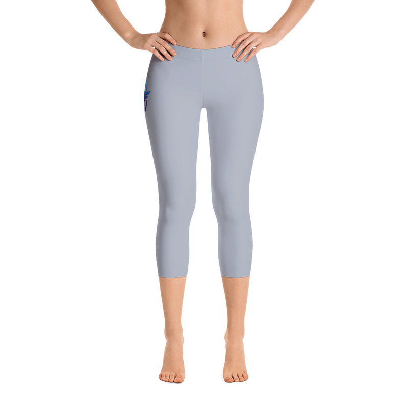 All Day Comfort Capri Leggings Pacific Supply II Grey - Find Your Coast Supply Co.