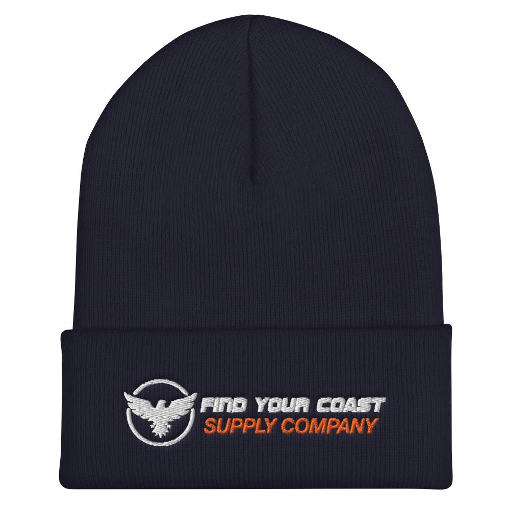 Find Your Coast Supply Company Cuffed Beanie