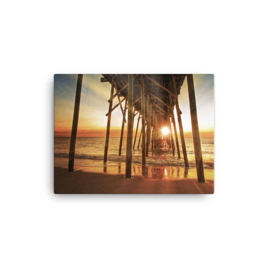 CoastalLife Pier - canvas - Find Your Coast Brand