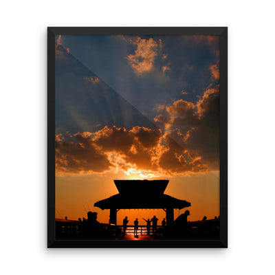Rayss -  Framed photo paper poster - Find Your Coast Brand
