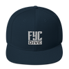 FYC Dive Premium Adjustable High Profile Snapback Hat - Find Your Coast Supply Co.