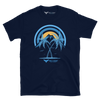 Men's Sunset Explorer Navy Short-Sleeve Tee Shirt - Find Your Coast Supply Co.