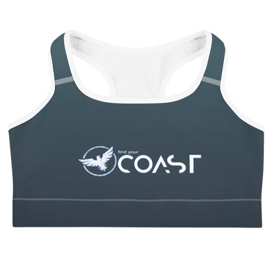 Women's Moisture Wicking Sports Bra - Find Your Coast Supply Co.