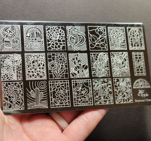 Apipila - Stained Glass Stamping Plate