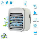 New Air Cooler Personal Space Cooling Any Space Portable Cooler Air Conditioning Fan Conditioner with Humidifier LED Night light