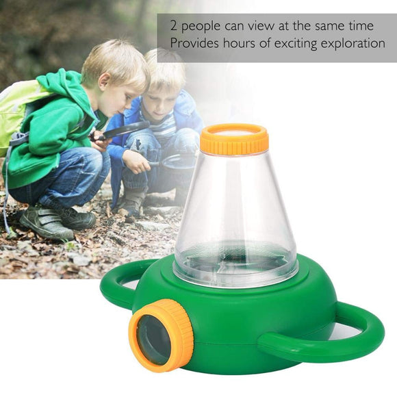 Baby Insect Magnifying Glass 2 Way Magnifier Children School Improve Learning And Observation Ability Early Educational Toys