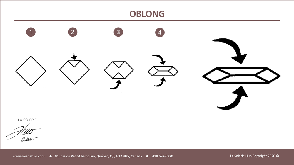 how to wear or tie an Oblong scarf