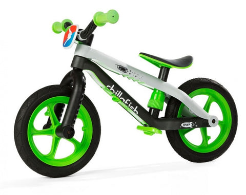 BMXie-RS loopfiets 12 Inch Jongens Lime