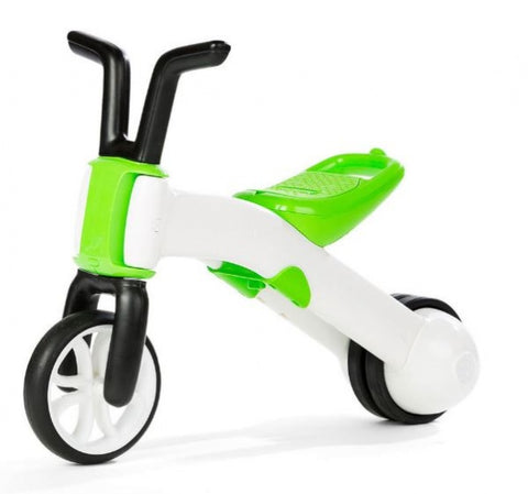 Bunzi 2-in-1 loopfiets Jongens Lime
