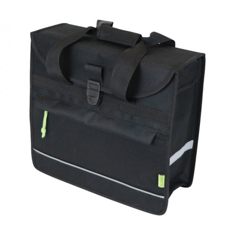 pakaftas Basic Shopper 15 liter nylon zwart