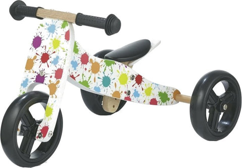 JW138 2-in-1 loopfiets Junior Wit