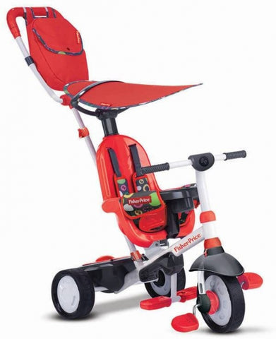 Charisma 4-in-1 Junior Wit/Rood