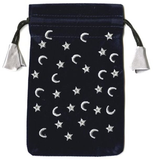 Moon and Stars Mini Tarot Bag