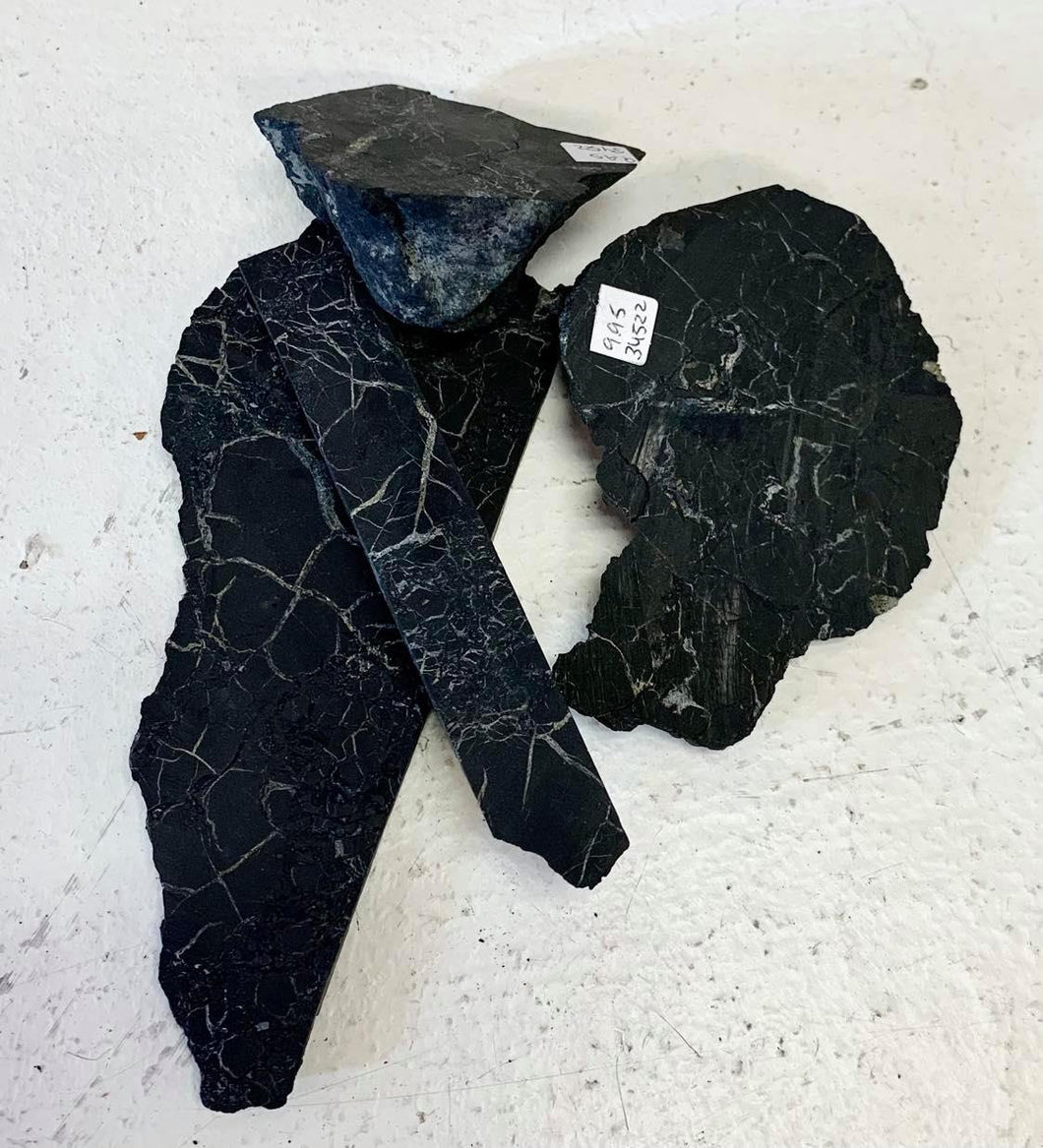 Rough Shungite Shards (Xlarge)