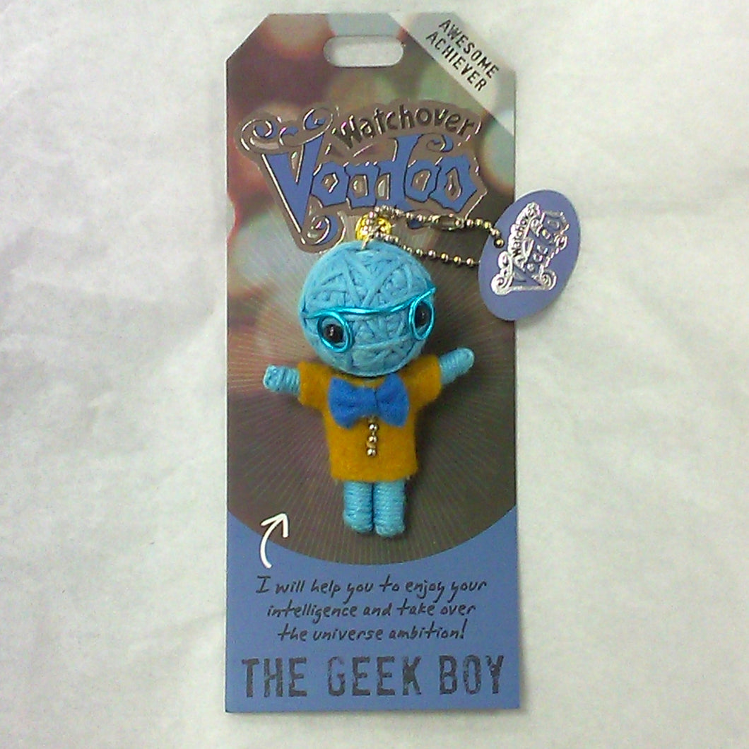 Voodoo Keychain - The Geek Boy