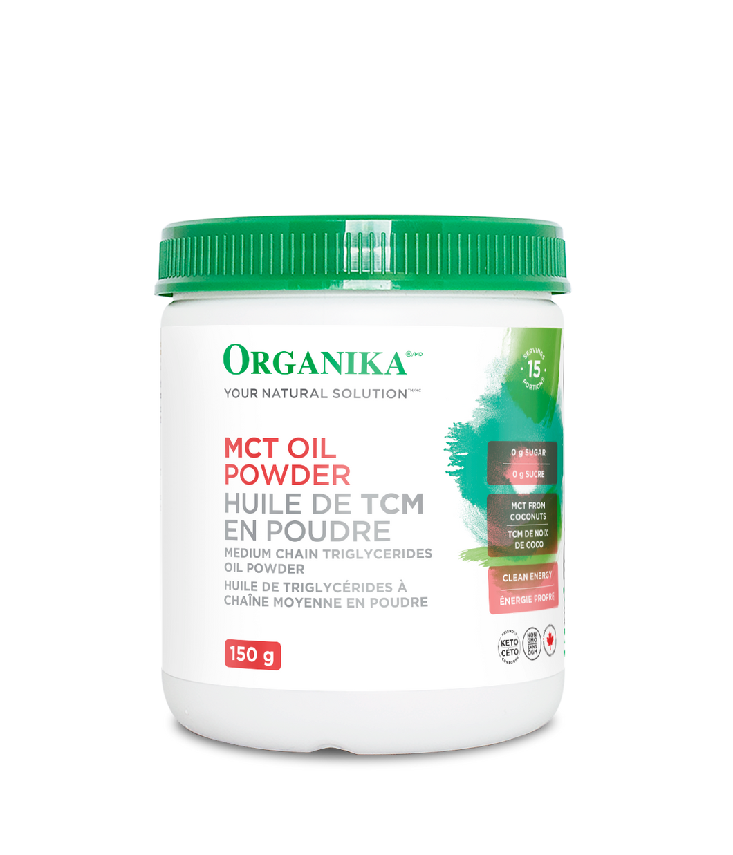 Organika MCT Oil Powder Supplement