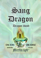 Sang-Dragon / Dragon blood merlin incense sticks