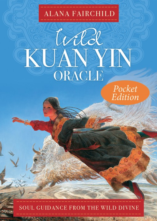 Wild Kuan Yin Oracle Cards Pocket Edition