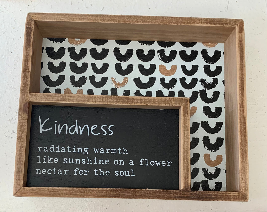 Kindness Box Sign