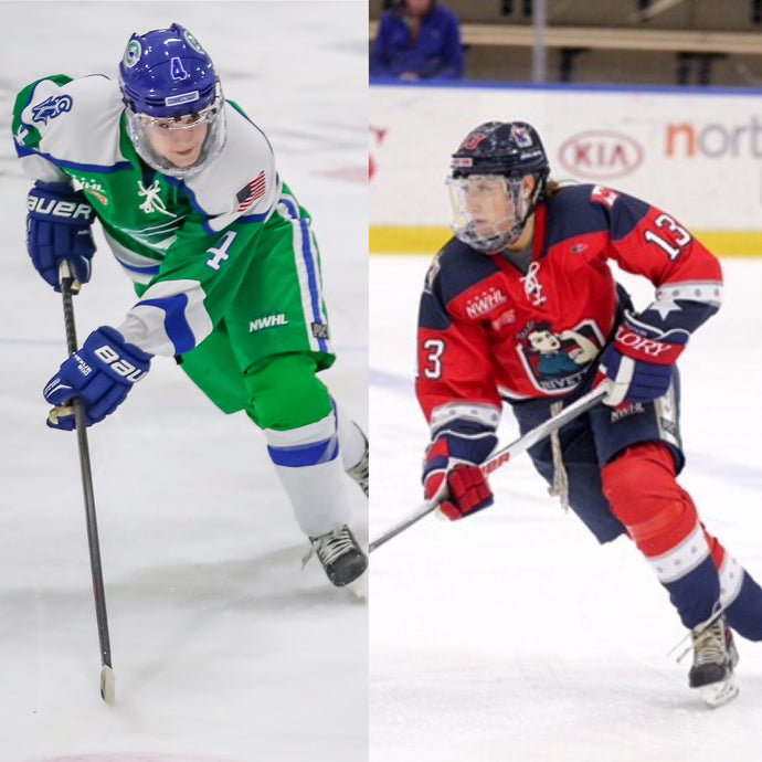 Anya Battaglino & Kaleigh Fratkin of the NWHL join the PG Sports Team!