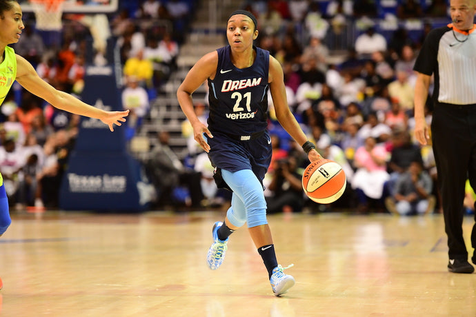 Renee Montgomery of the Atlanta Dream joins the PG Sports Team