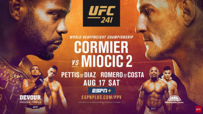 Two UFC 241 Main Card Predictions
