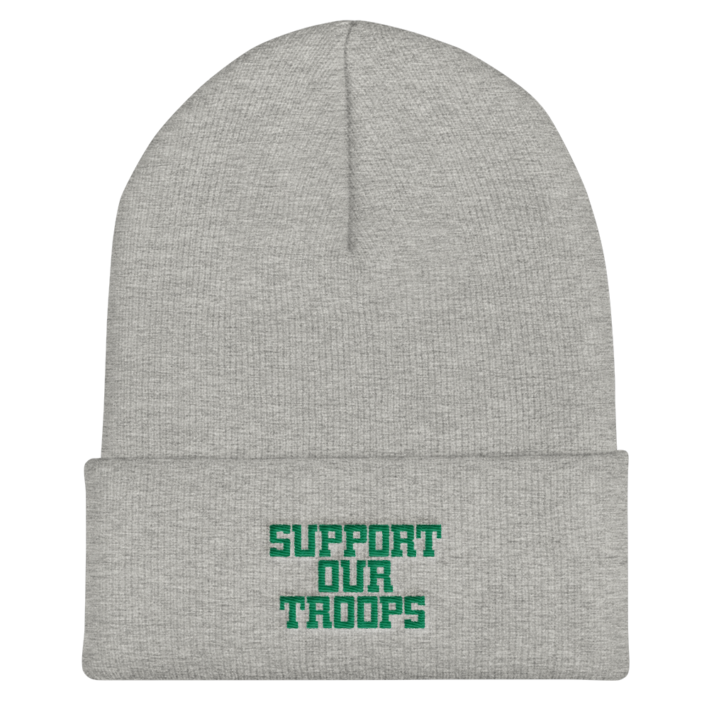 Support Our Troops Beanie