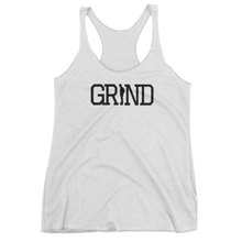 Load image into Gallery viewer, GRIND - White Women's tank top
