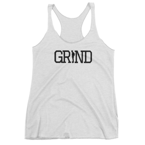 GRIND - White Women's tank top
